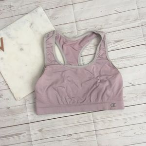 5/$25 champion womens m lavender sports bra 06498